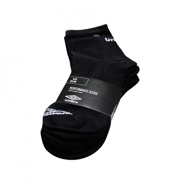 Sportovní ponožky Umbro 3 páry, černé