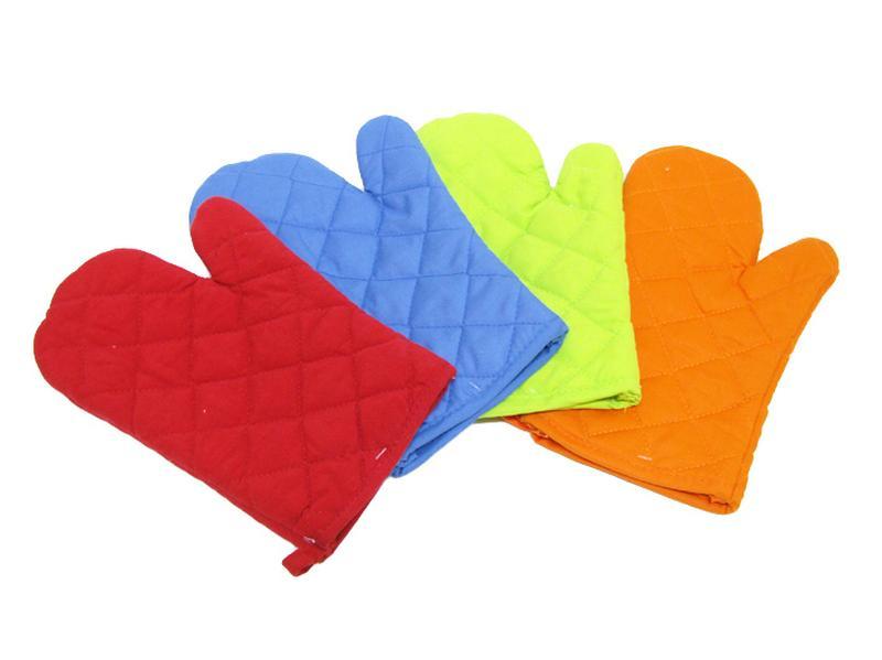 Kuchyňská chňapka, rukavice, assort barev