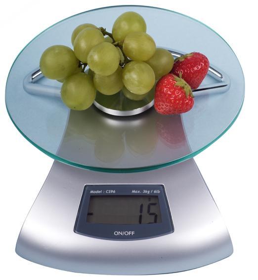 kuchyňská váha digitální do 3 Kg 17 x 5,6 cm