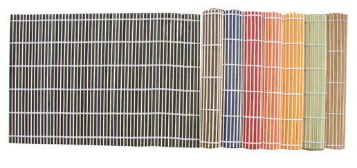 Bambusové prostírání bez obruby set 4 ks, 30 x 45 cm
