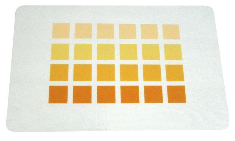 """Prostírání  """"s kostkami"""" transparentní podklad, 28 x 43 cm"""