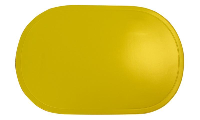 Prostírání ovál žluté, 29 x 44 cm