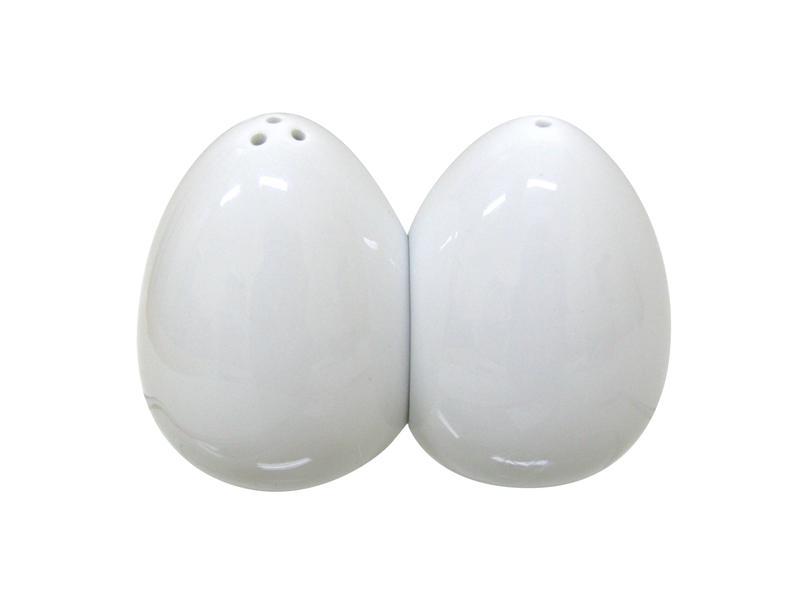 Slánka a pepřenka, keramika, bílá