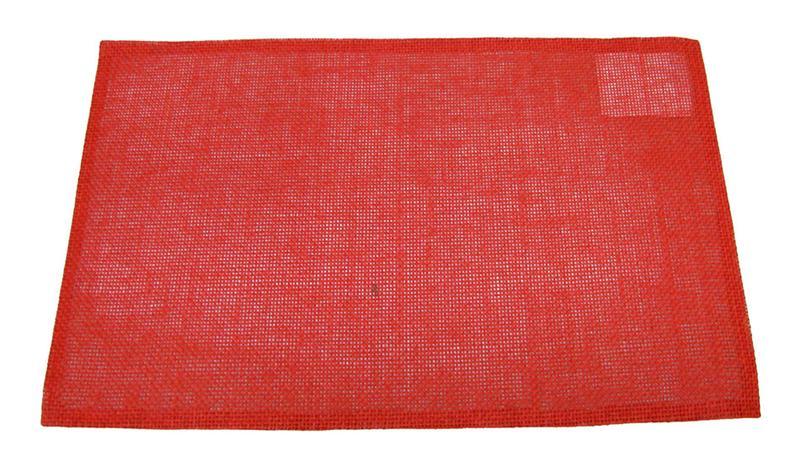 Prostírání celulóza červené, 29 x 44 cm