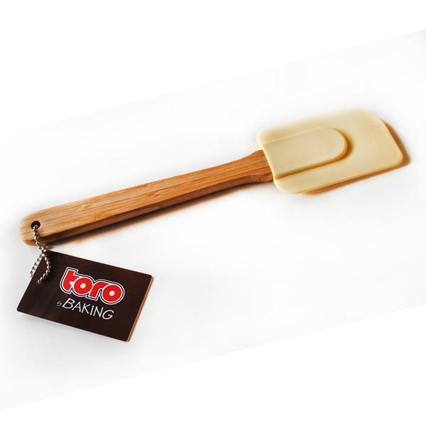 Stěrka silikon bamboo, krémová