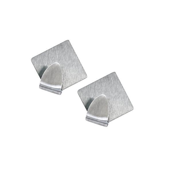Háček, motiv diamant, 5 cm, 2 ks