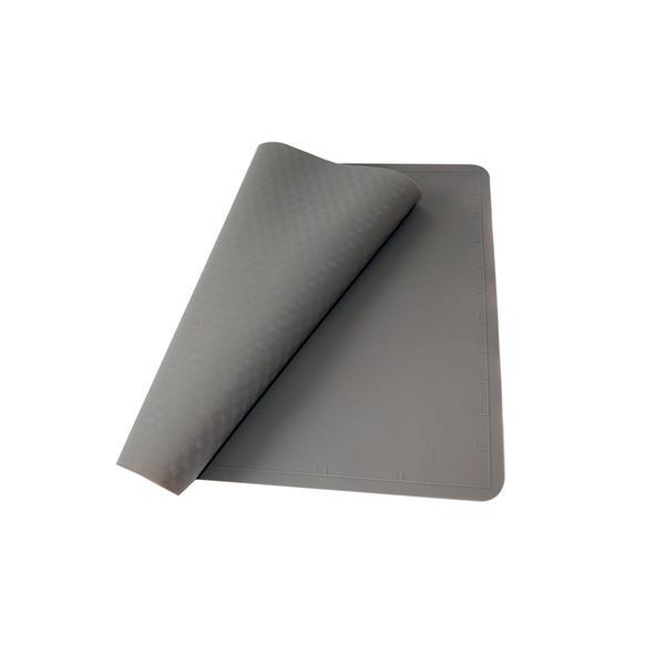 Vál na těsto silikonový, 40 x 30 cm, šedo-hnědý