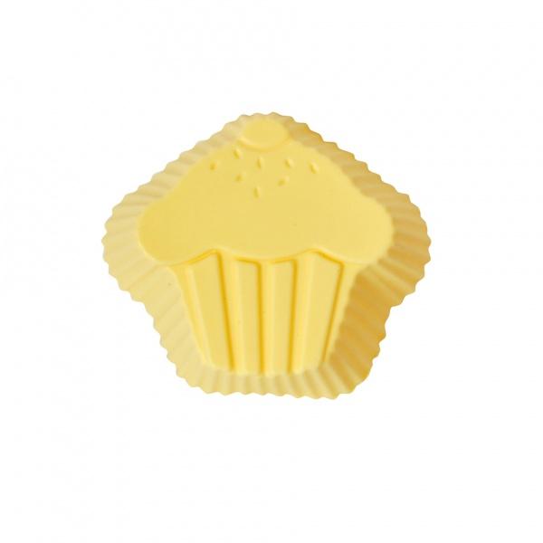 Silikonová forma, tvar muffin, 6 ks