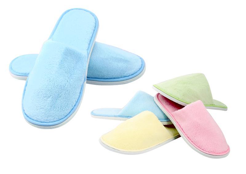 Pantofle dámské, fleece, velikost M
