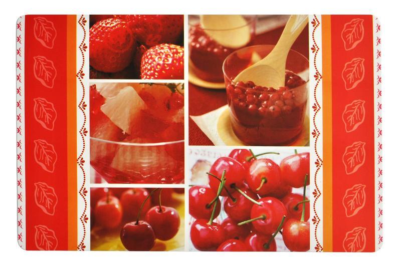 Prostírání ovoce,  43,5 x 28,5 cm, plast