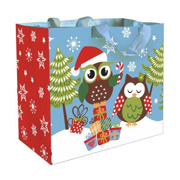 """Taška nákupní - """"Vánoční sova"""""""