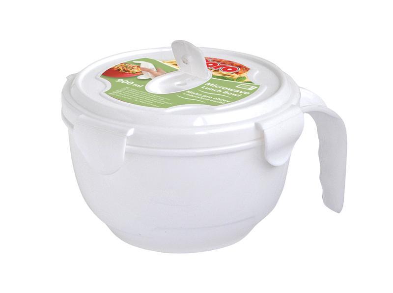 Miska pro ohřev v mikrovlnné troubě plast, 1,05 l