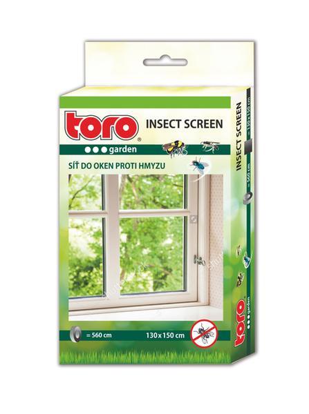 Síť okenní proti hmyzu, černá, 130 x 150 cm