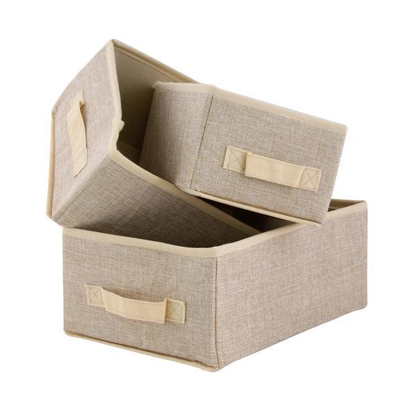 BOX ÚLOŽNÝ 3KS, NETKANÁ TEXTILIE, ASSORT