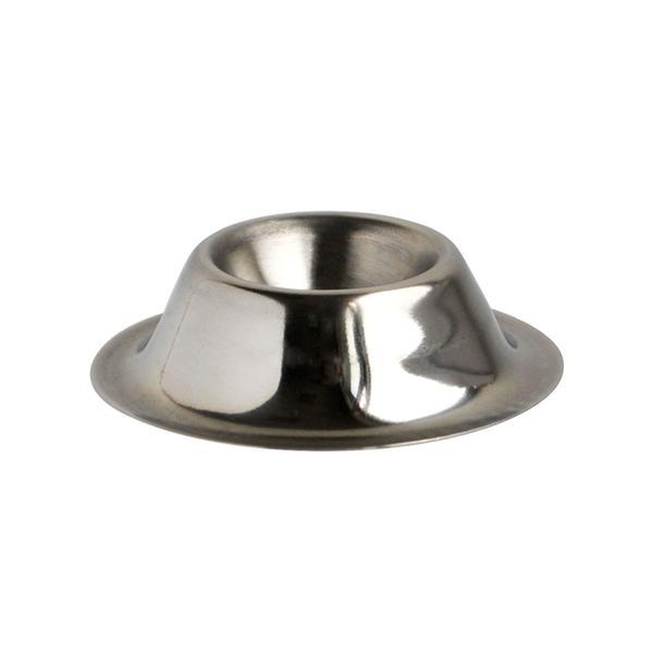 Kalíšek na vajíčko, nerez, pr. 4,5 cm