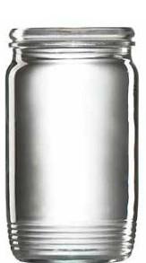 Sklenice zavařovací, 10 ks, 300 ml