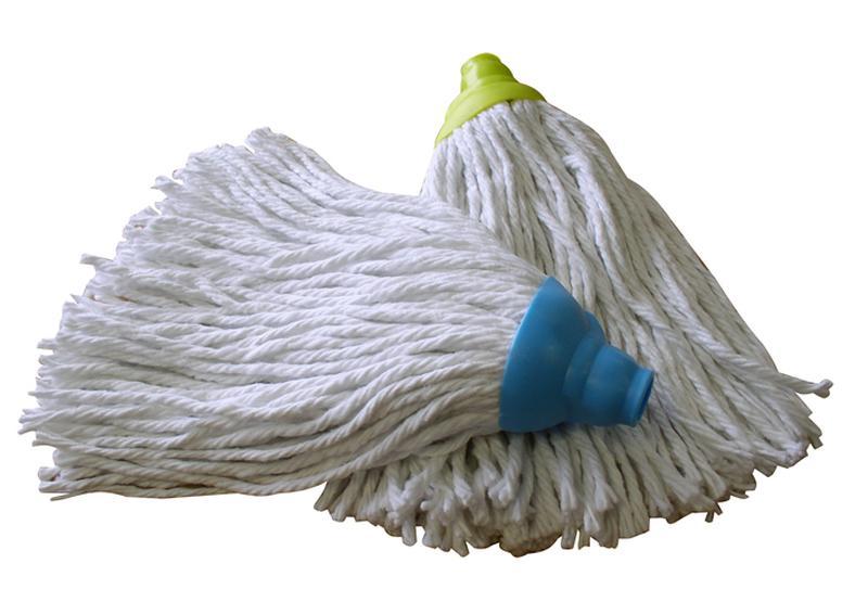 Náhradní bavlněná hlavice k mopu - provázky
