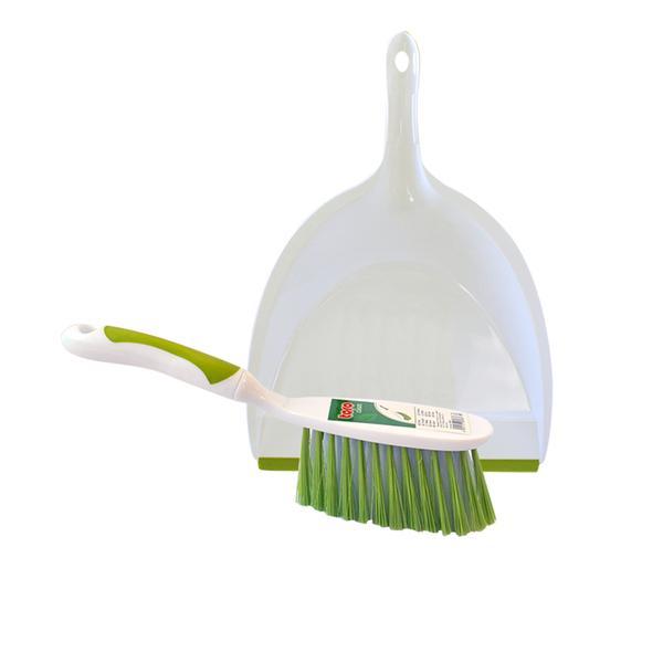 Smetáček-lopatka, bílá/zelená
