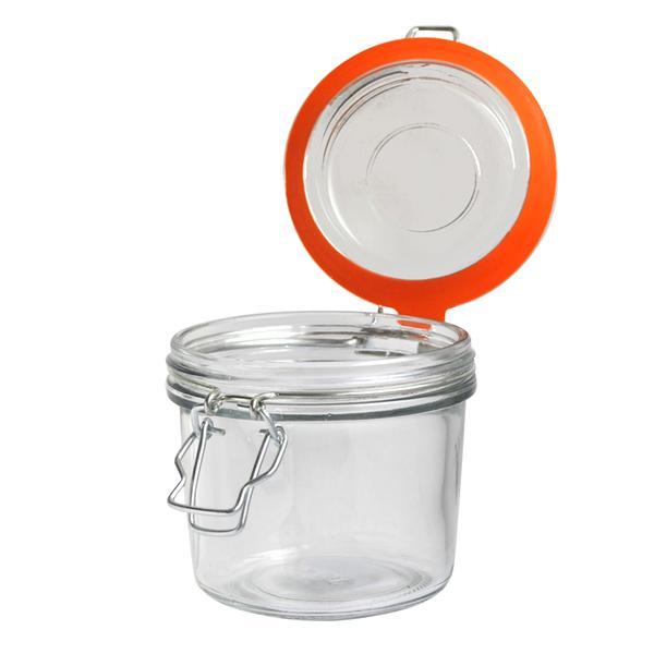 Dóza sklo, patentní uzávěr, 320 ml