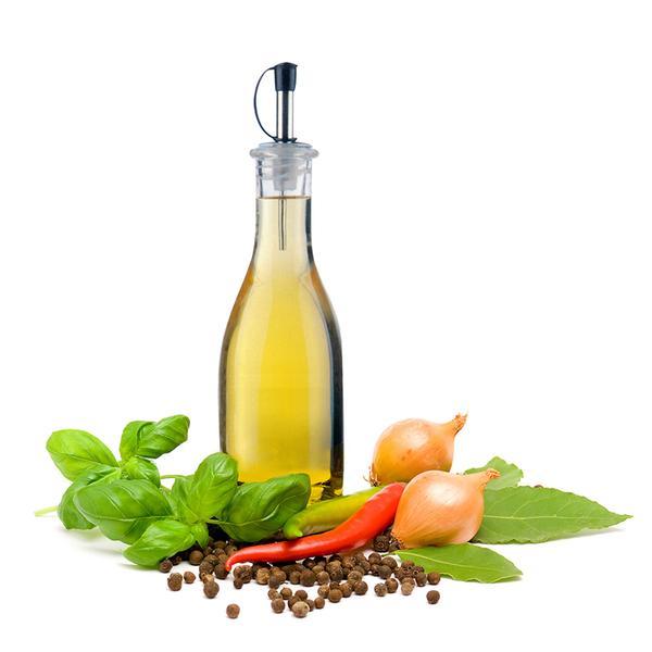 Láhev na olej/ocet, sklo, objem 330 ml