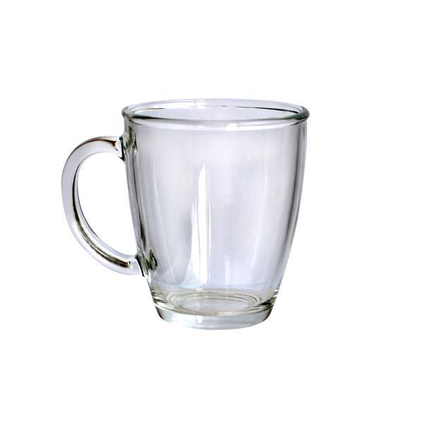 Hrnek čirý, sklo, objem 360 ml