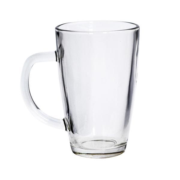 Hrnek čirý, sklo, objem 340 ml
