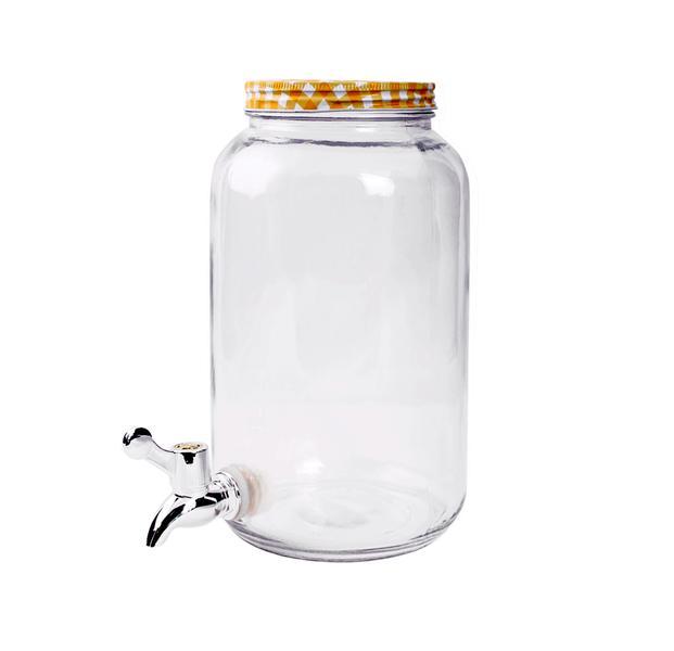 Sklenice na nápoj s otočným kohoutkem 3 l, assort