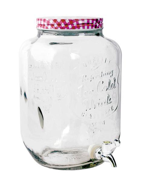 Sklenice na nápoj s otočným kohoutkem 7,8 l, assort
