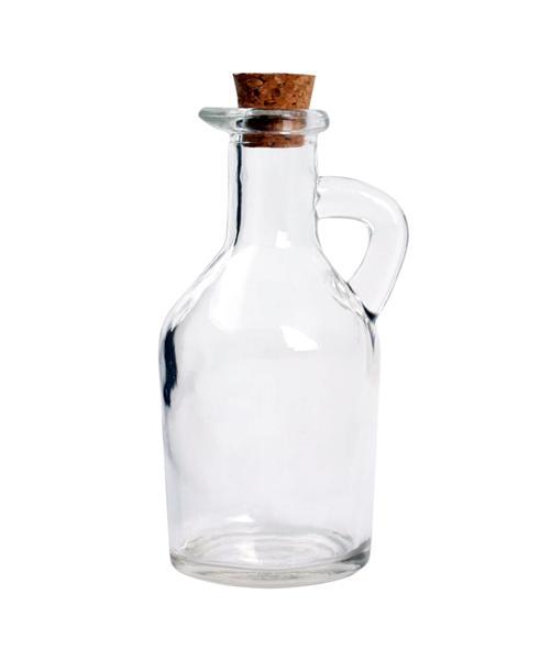Láhev na olej/ocet, sklo, 100 ml, korková zátka