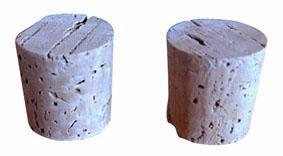 zátky na demižon, set 2 ks  4 x 4 cm