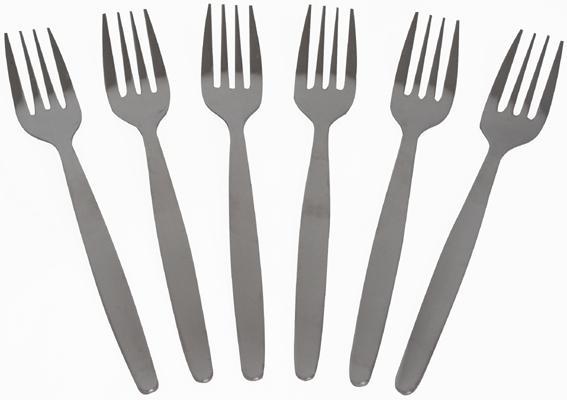 Vidlička jídelní Scandinavie, 6ks