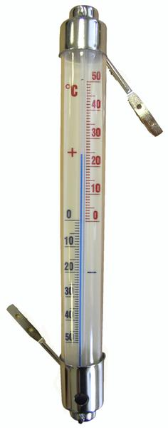 Teploměr venkovní, od - 50 °C do + 50 °C