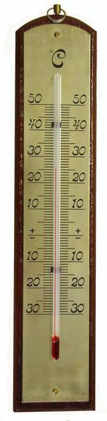 Teploměr pokojový, 2 designy,  od - 30°C do + 50°C