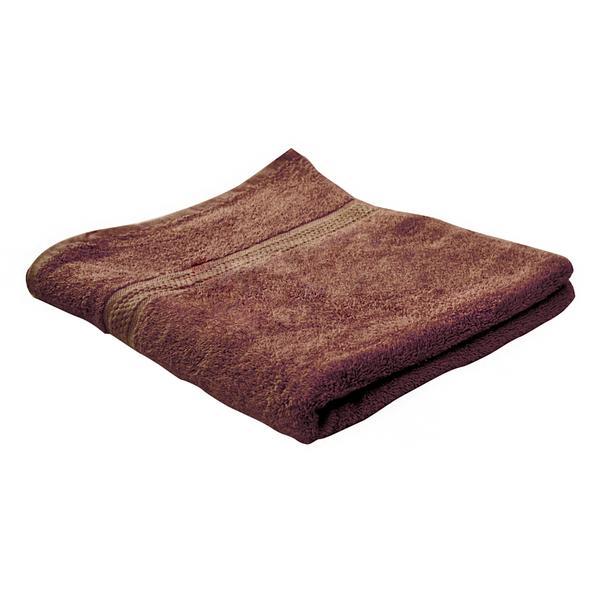Osuška PLANA, 70x140cm, hnědá