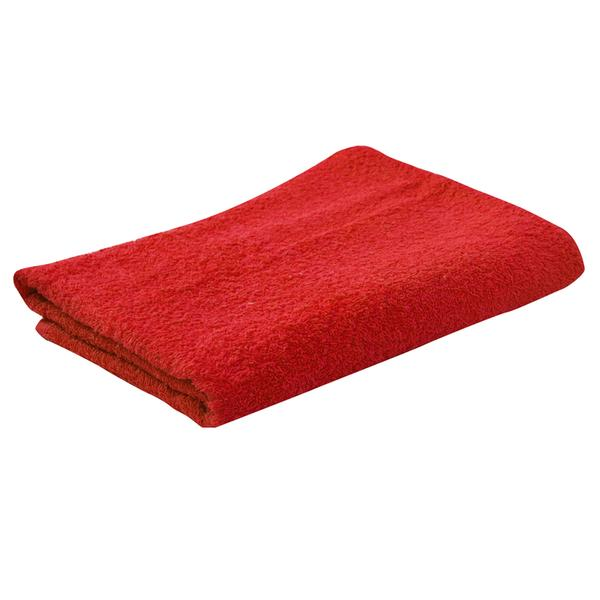 Osuška PAYO, 70x140cm, tmavě červená