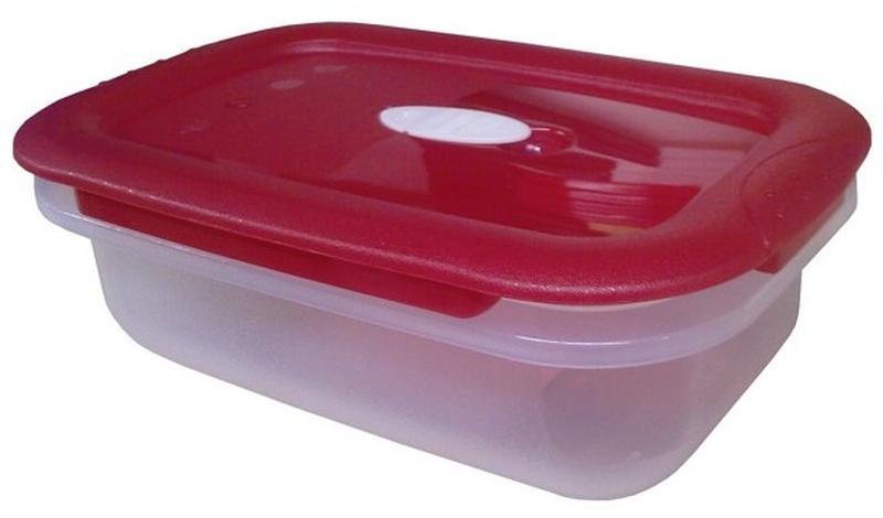 Dóza obdélník Fresh Save /Micro Clip, objem 0,6 l