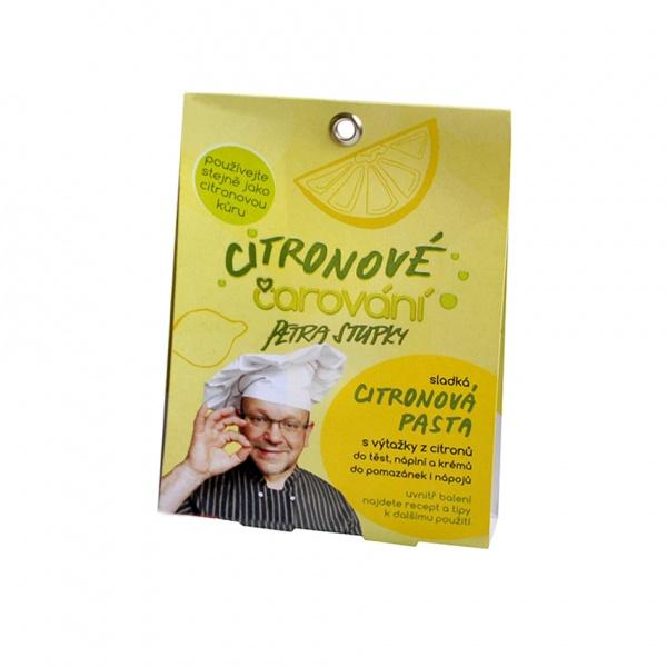 Citronové čarování, citronová pasta 4 x23 g