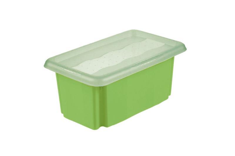 Box úložný Stack&Go s víkem 7 l, světle zelená