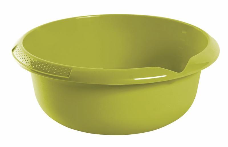 Mísa s výlevkou, 3,5 l, plast, zelená