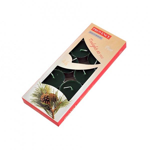 Čajová svíčka les, 10 ks