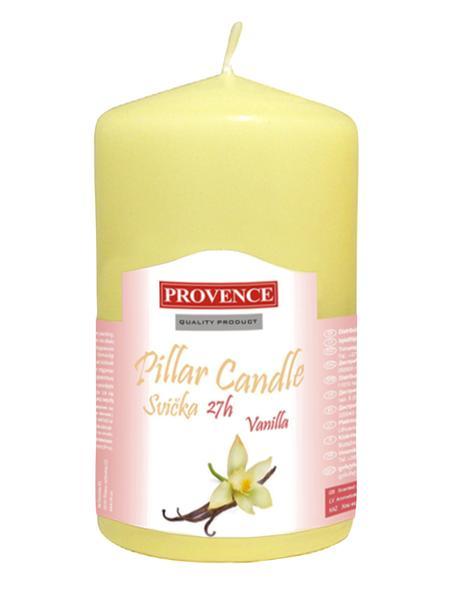 Svíčka válec, 6 x 11,1 cm, vůně vanilka