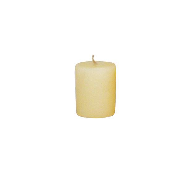 Svíčka s vůní vanilky,  4 x 4, 9 cm