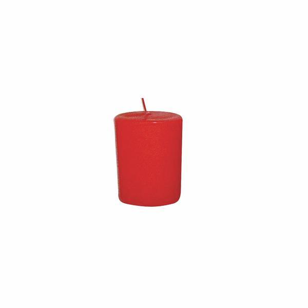 Svíčka s vůní růže,  4 x 4, 9 cm