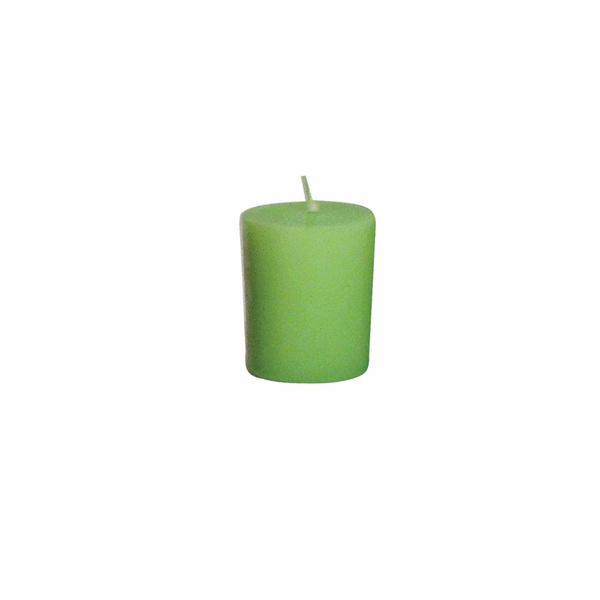 Svíčka s vůní jablka,  4 x 4, 9 cm