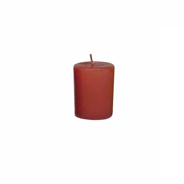 Svíčka s vůní skořice,  4 x 4, 9 cm