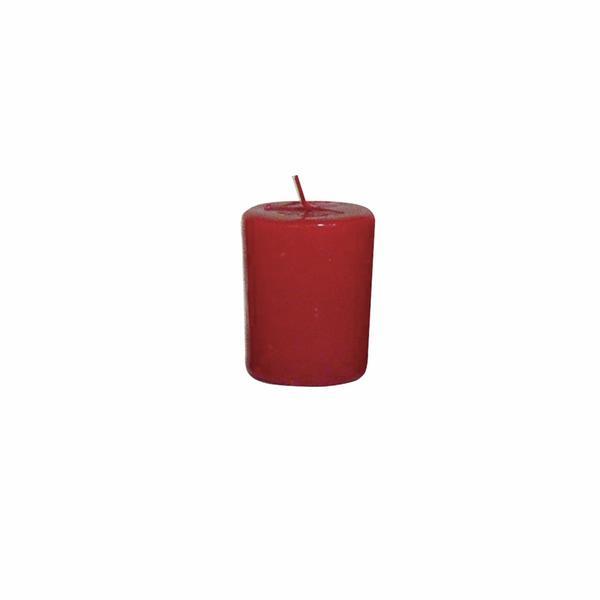 Svíčka s vůní brusinky,  4 x 4, 9 cm