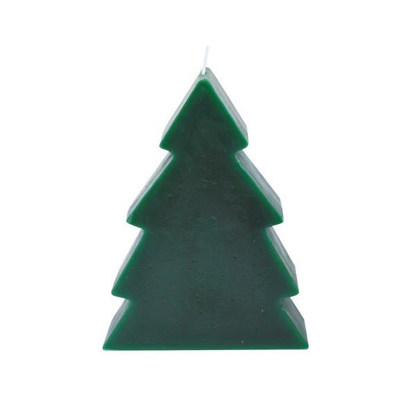 Svíčka vánoční stromek zelená