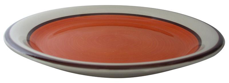 talíř dezertní s pruhem 19 x 2,8 cm