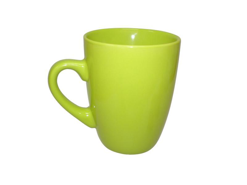 Hrnek keramika 340 ml, zelený