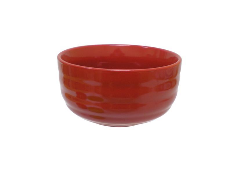 Miska objem 600 ml, keramika, červená